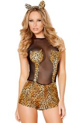 Ресницы и линзы - Африканский леопард