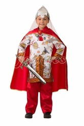 Богатыри - Атласный костюм Богатыря
