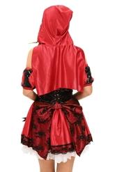 Красные шапочки - Ажурный костюм Красной шапочки