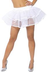 Подъюбники и юбки - Белая двухслойная юбка