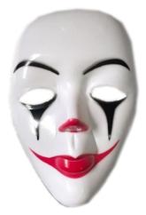 Клоунессы - Белая маска Грустного клоуна