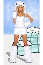 Женские костюмы - Белая медведица