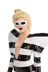 Знаменитости - Белые очки Леди Гага