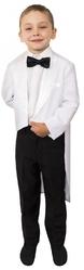 Ретро-костюмы 60-х годов - Белый детский фрак