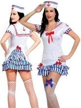 Морячки - Белый костюм морячки милашки