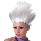 Русалка - Белый парик Урсулы