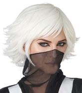 Аниме - Белый парик