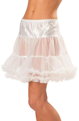Подъюбники и юбки - Белый подъюбник