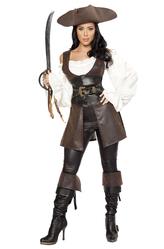 Костюмы на Хэллоуин - Костюм Бесподобная пиратка