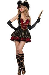 Пиратские костюмы - Костюм Бесстрашная пиратка