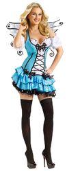 Колдуны и колдуньи - Бирюзовое платье с крылышками