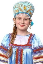 На Новый год - Бирюзовый кокошник Княжна