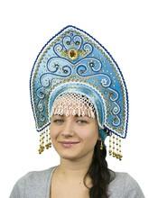 На Новый год - Бирюзовый кокошник Ярославна