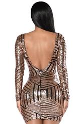 Клубные платья - Блестящее платье для клуба