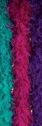 Ретро и Хиппи - Боа цвета фуксия