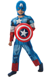 Капитан Америка - Костюм Боевой Капитан Америка