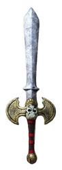 Аксессуары - Боевой меч с черепом