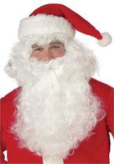 Борода и усы - Борода и парик Санта Клауса