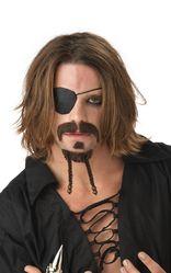 Пираты и разбойники - Бородка и усы мачо-пирата