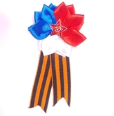 День Военно-воздушных сил - Брошь День победы с цветком