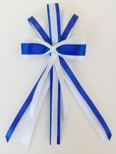 Школьницы и студентки - Брошь синий бантик