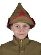 Военные и летчики - Буденовка с красной звездой
