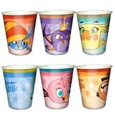 Герои видеоигр - Бумажные стаканы Angry Birds Stella