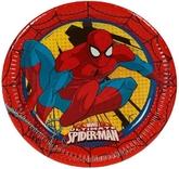 Человек-паук - Бумажные тарелки Человек Паук Суперсила 8 шт