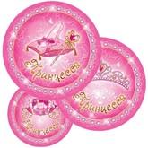 День смеха - Бумажные тарелки Моя принцесса