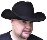 Ковбои и индейцы - Черная ковбойская шляпа