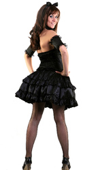 Женские костюмы - Черная леди