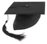 Школьницы и студентки - Черная шляпа выпускника