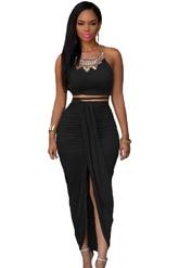 Клубные платья - Черная юбка с топом
