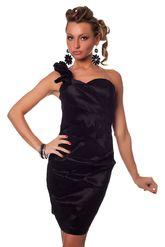 Клубные платья - Черное коктейльное платье