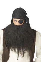 Пираты и капитаны - Черные борода усы пирата