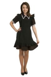 Школьницы и студентки - Черный фартук Жанна