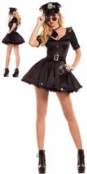 Полицейские и Грабители - Черный костюм Полицейской