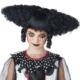 Клоунессы - Черный парик клоуна