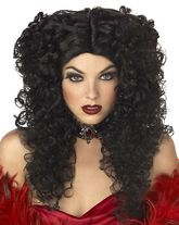 Вампиры и Дракулы - Чёрный парик мадам Смерти