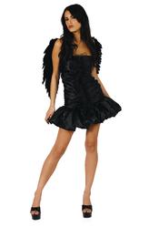Костюмы на Хэллоуин - Костюм Черный ангел