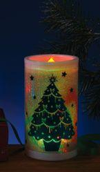 На Новый год - Декоративная свеча новогодняя