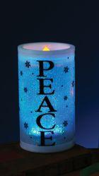 Ретро и Гангстеры - Декоративная свеча Peace