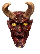 Страшные костюмы - Декорация Голова Демона