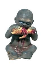 Скелеты и Зомби - Декорация Ребенок поедающий руку 40 см