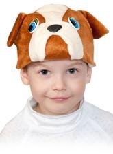 Собаки - Детская маска Бульдога