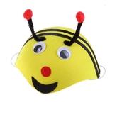 Пчелки и бабочки - Детская маска пчелка