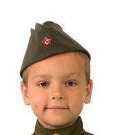 Военные и летчики - Детская пилотка солдата