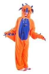 Кигуруми - Детская пижама-кигуруми Оранжевый Дракон