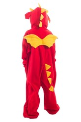 Кигуруми - Детская пижама-кигуруми Рубиновый дракон