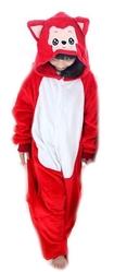 Кигуруми - Детская пижама Красный котик